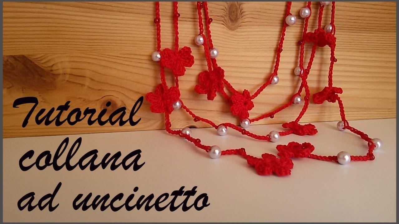 Tutorial Collana Ad Uncinetto Kukičani Nakit Pinterest Crochet
