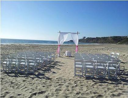Salt Creek Beach Wedding