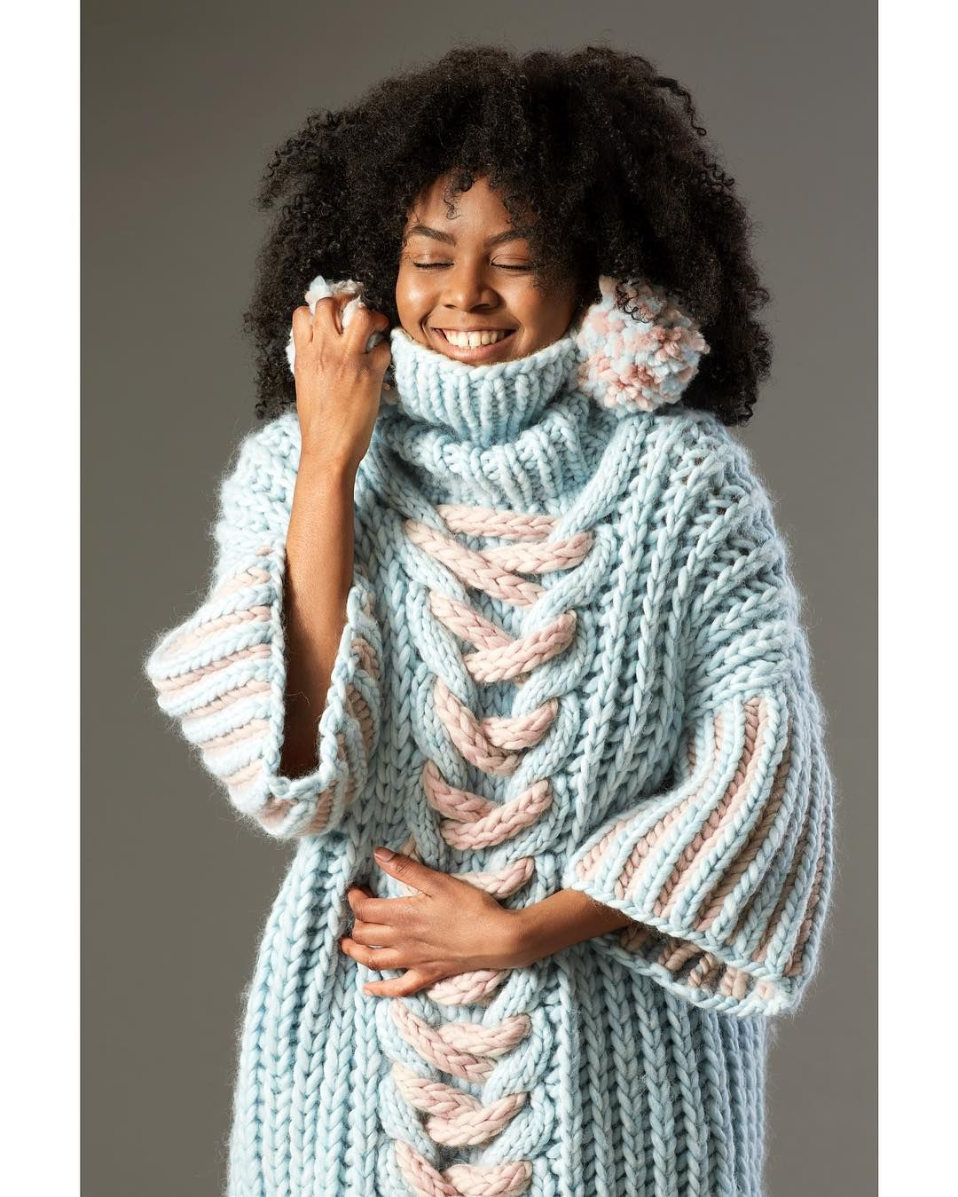 Chunky knits using We Are Knitters \