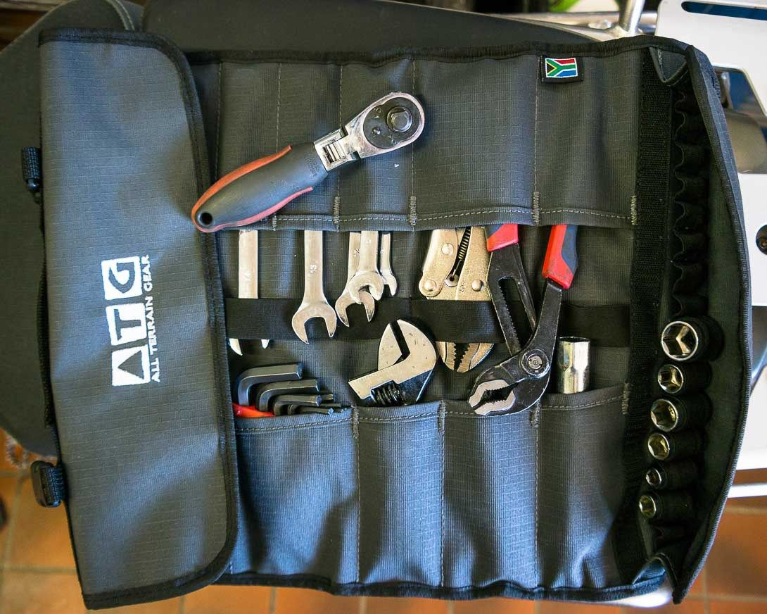Atg All Terrain Gear Tool Roll Motorcycle Camping