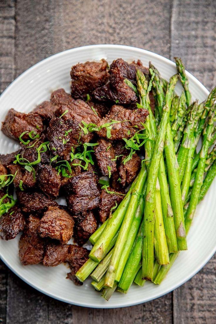 Air Fryer Steak Tips are little steak bite pieces of beef