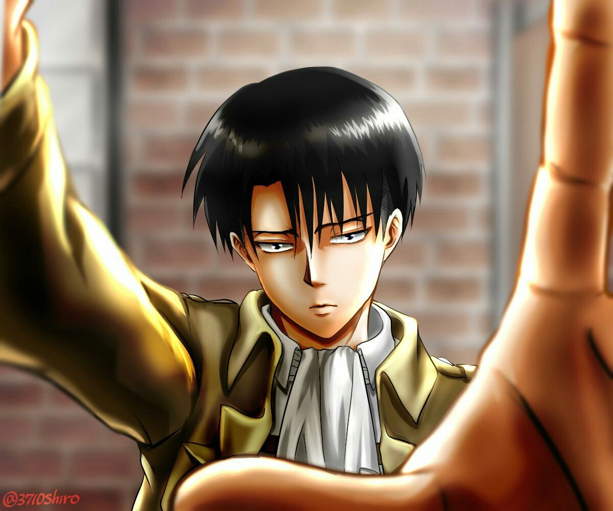 Levi Ackerman Attack On Titan Selfie A Lo V