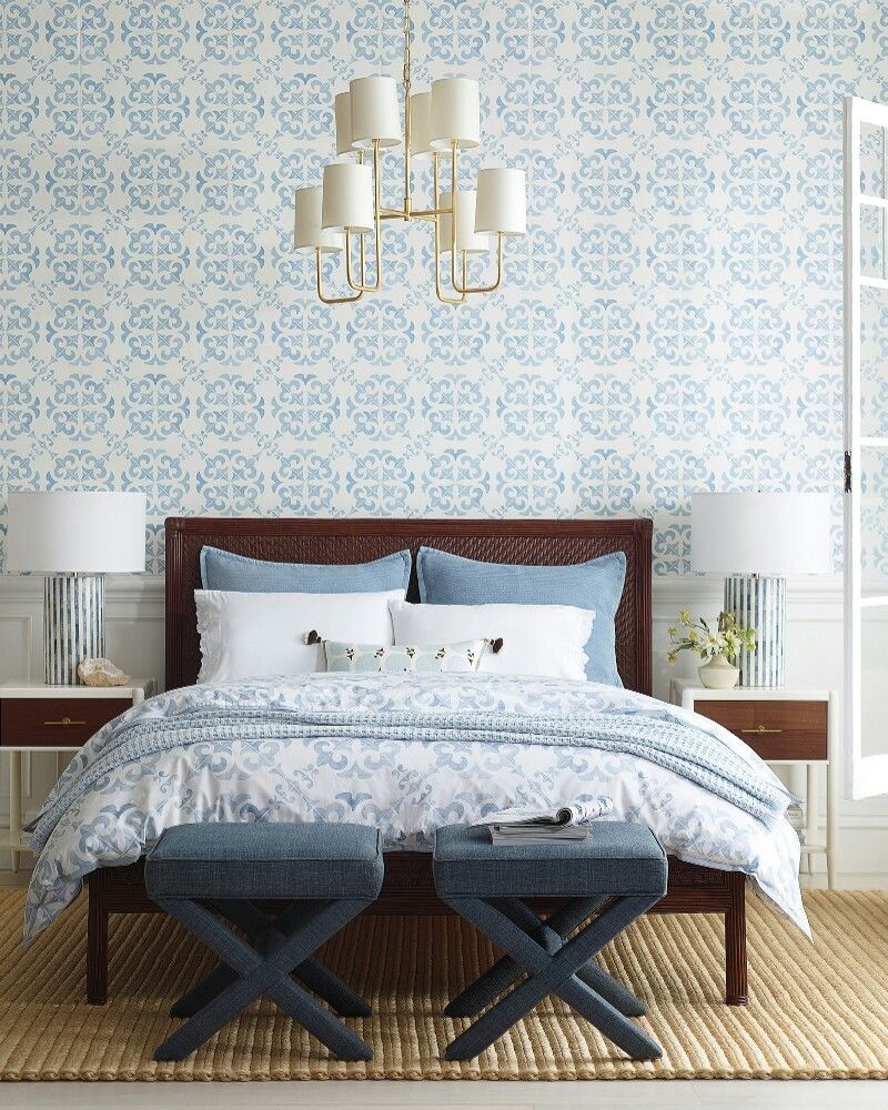 Serena and Lily Wentworth wallpaper Discount bedroom