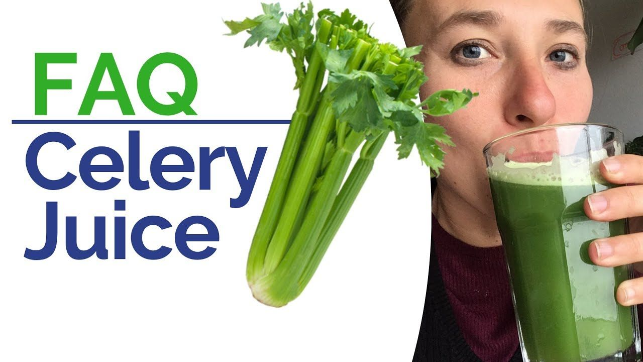 Celery Juice FAQ - Side Effects, Detox Symptoms, Diarrhoea