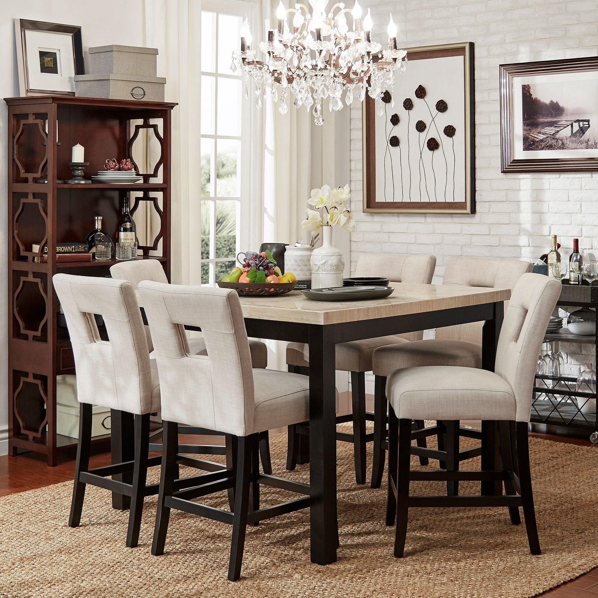 Off White Tufted Dining Chairs