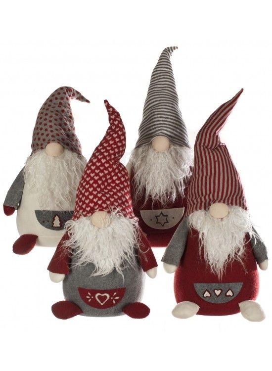 Christmas Gonks Standing 4a 22069 Rosefields Gnomes Crafts Christmas Sewing Scandinavian Christmas