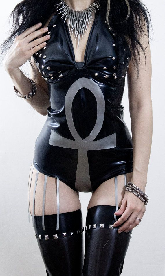 b09737012 Ankh Latex bodysuit. MADE TO MEASURE by AusrieFel on Etsy