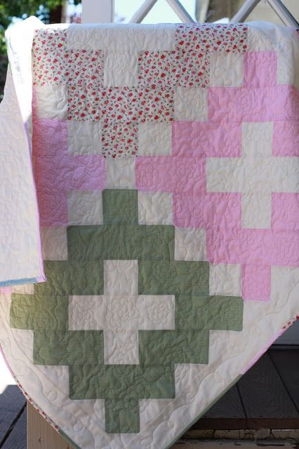 Vintage quilt pattern from the book Simply Retro by Camille Roskelley