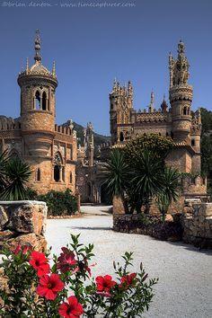 Colomares Spires, Benalmadena, Malaga,Spain