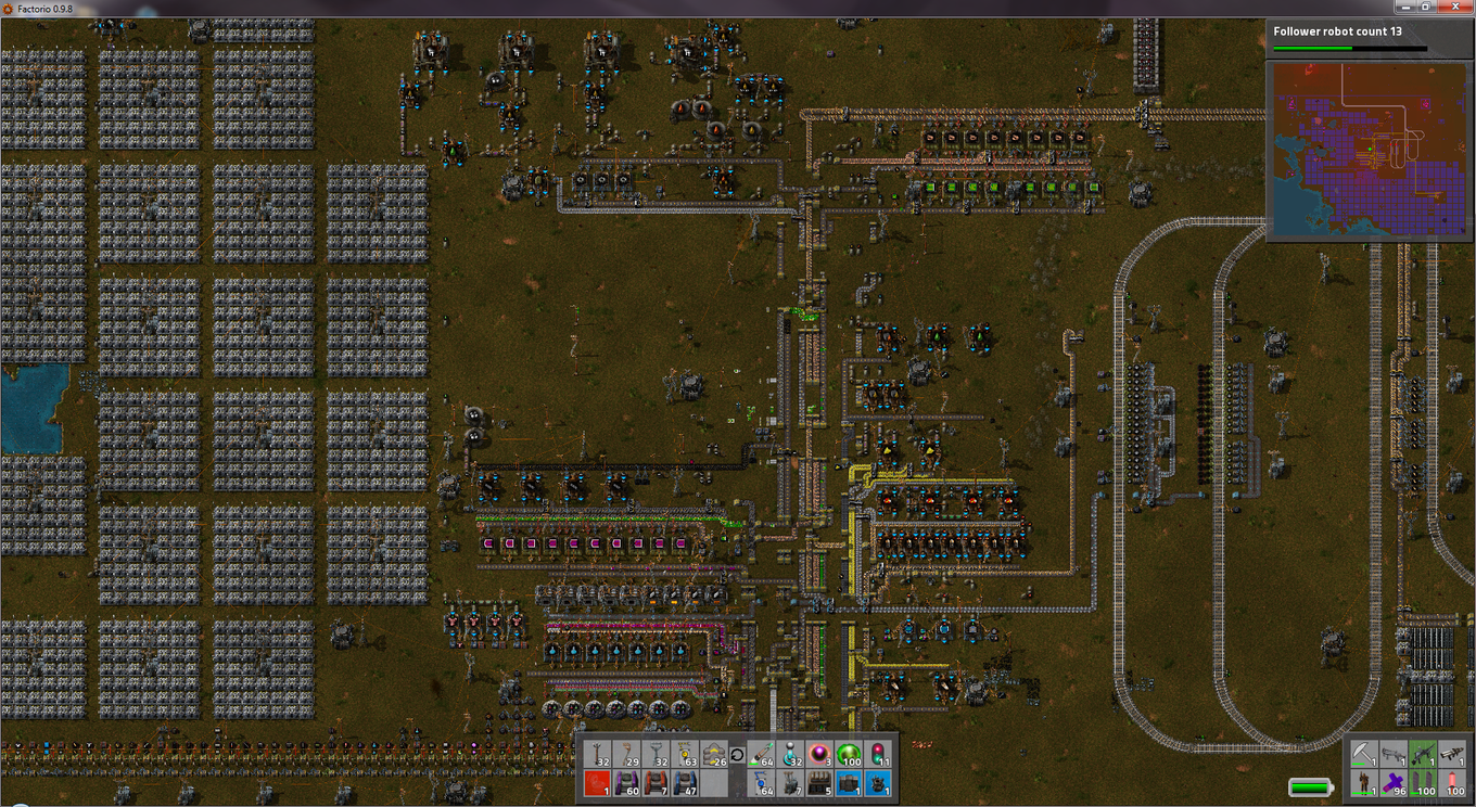 Factorio 70 Hr Base