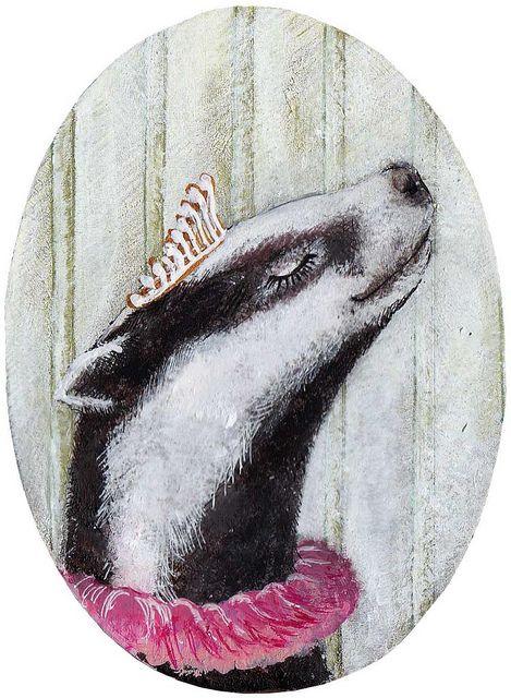 Lady Badger