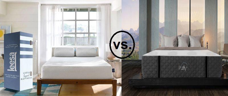Leesa Legend Vs Puffy Royal Comparison Reviews Best Deals Luxury Mattresses Mattress Comparison Mattresses Reviews