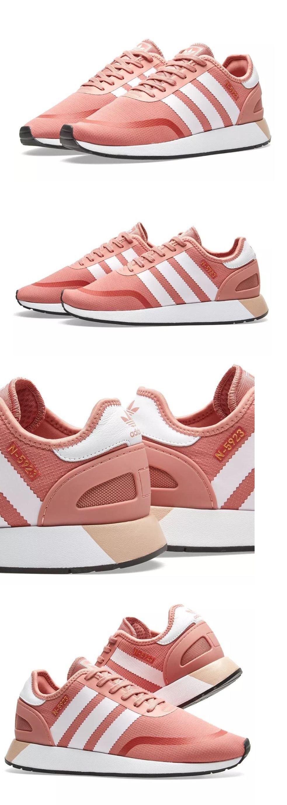 newest d62e3 22e7d Athletic 95672 Adidas Originals N-5923 W Ash Pink White Women Shoes Size  6.5 Aq0267 - BUY IT NOW ONLY 65 on eBay!