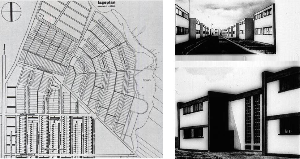 quartiere torten a dessau walter gropius 1926 28. Black Bedroom Furniture Sets. Home Design Ideas