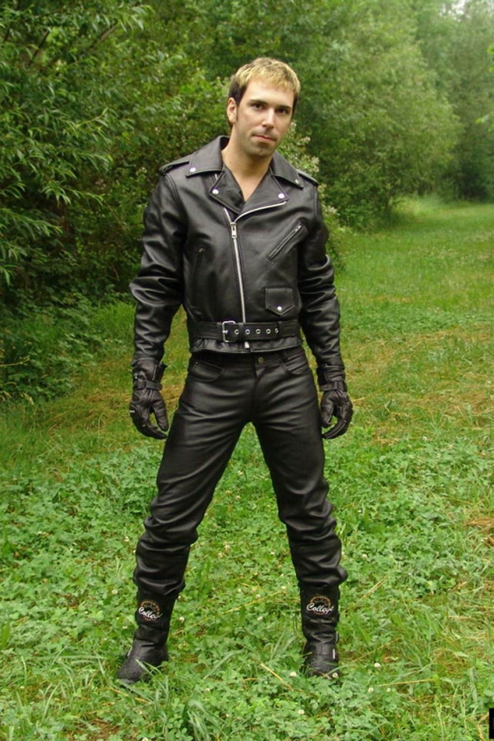 Ready To Roll Leather Jacket Men Style Leather Jacket Tight Leather Pants [ 1500 x 1000 Pixel ]