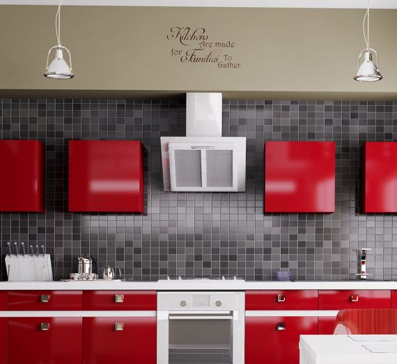 Kitchen Removable Decal Kitchens Are Made For by ...