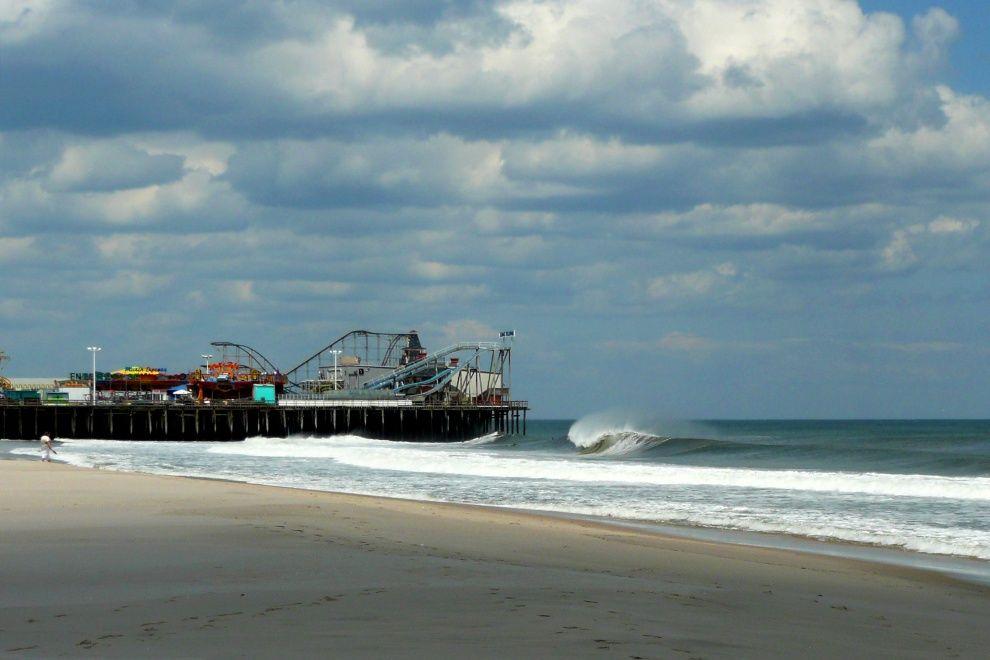 Casino Pier Seaside Heights Nj Surfing Seaside Heights Seaside Park