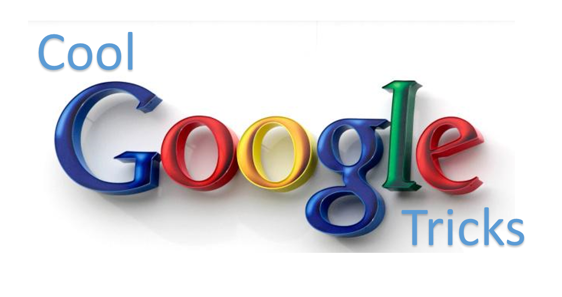 Cool Google Tricks To Save Your Time