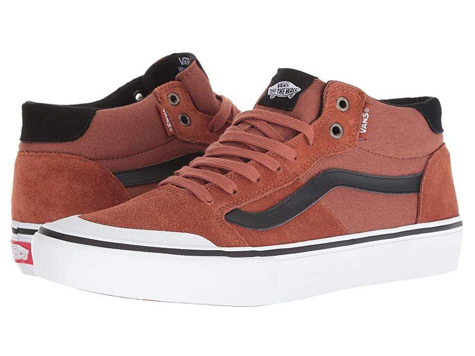 Vans Style 112 Mid Pro (Sequoia Black) Men s Skate Shoes. Blaze a ... 169e66f74