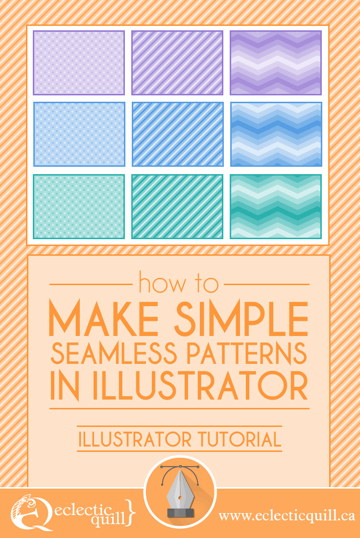 In this tutorial I'm going to show you how to make 3 simple background patterns in Adobe Illustrator. These seamless patterns can be used for your social sharing graphics, or any other projects.