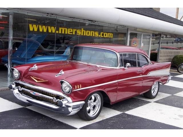 1957 Chevrolet Bel Air Coupe For Sale 1731058 Chevrolet Bel Air 1957 Chevrolet Chevy Muscle Cars