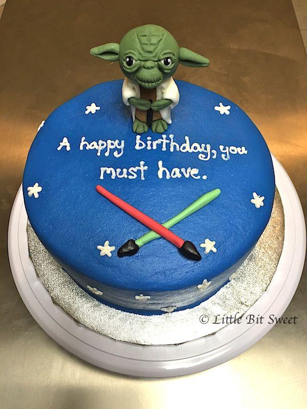 Star Wars Yoda Cake Cakes Pinterest Yoda cake Star and Cake