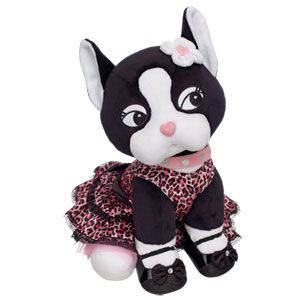 Oh la la! Rebecca Bonbon is adorable and you can make your own right now at Build-A-Bear Workshop!