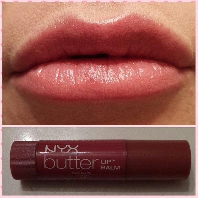 Nyx Butter Lip Balm In Brownie The Balm Lip Balm Nyx Butter