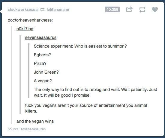 Veganske dating tumblr
