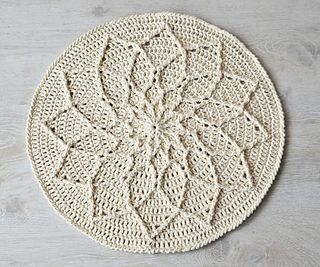 This pattern will be released on Friday, January 22, 2016. Beautiful mandala pattern, and a chance to a win a free copy on her blog until 6AM 01/22/2016.