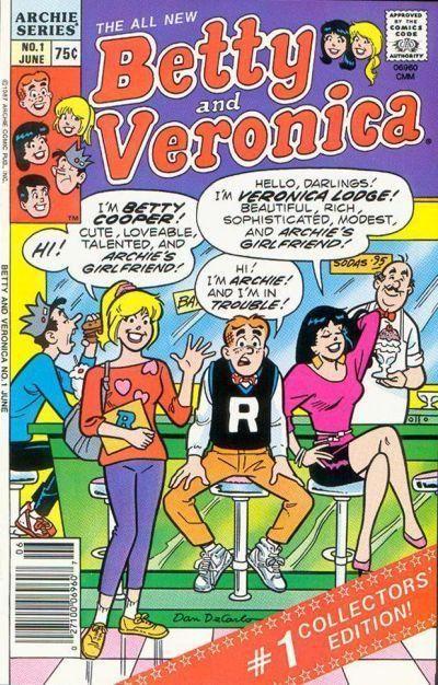 Archie Andrews Betty Cooper Veronica Lodge Jughead Jones Reggie