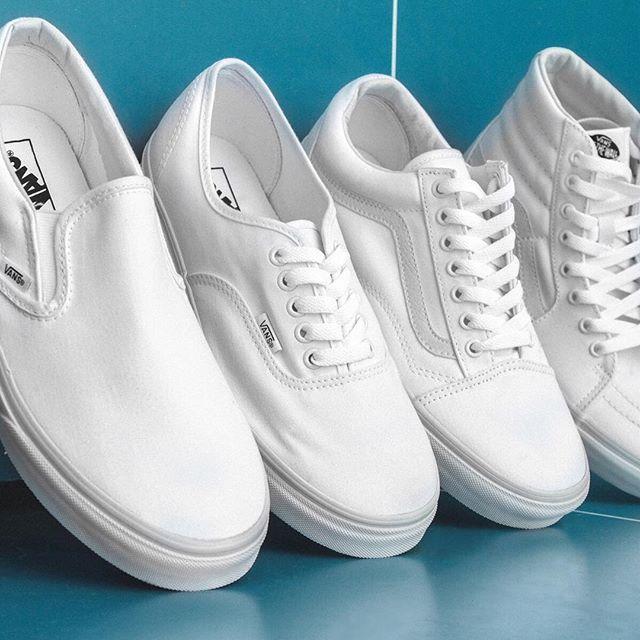White vans shoes, Mens vans shoes, Vans