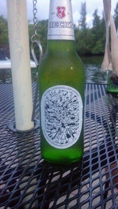 Becks 2012 Beer Label Beer Bottle Beer