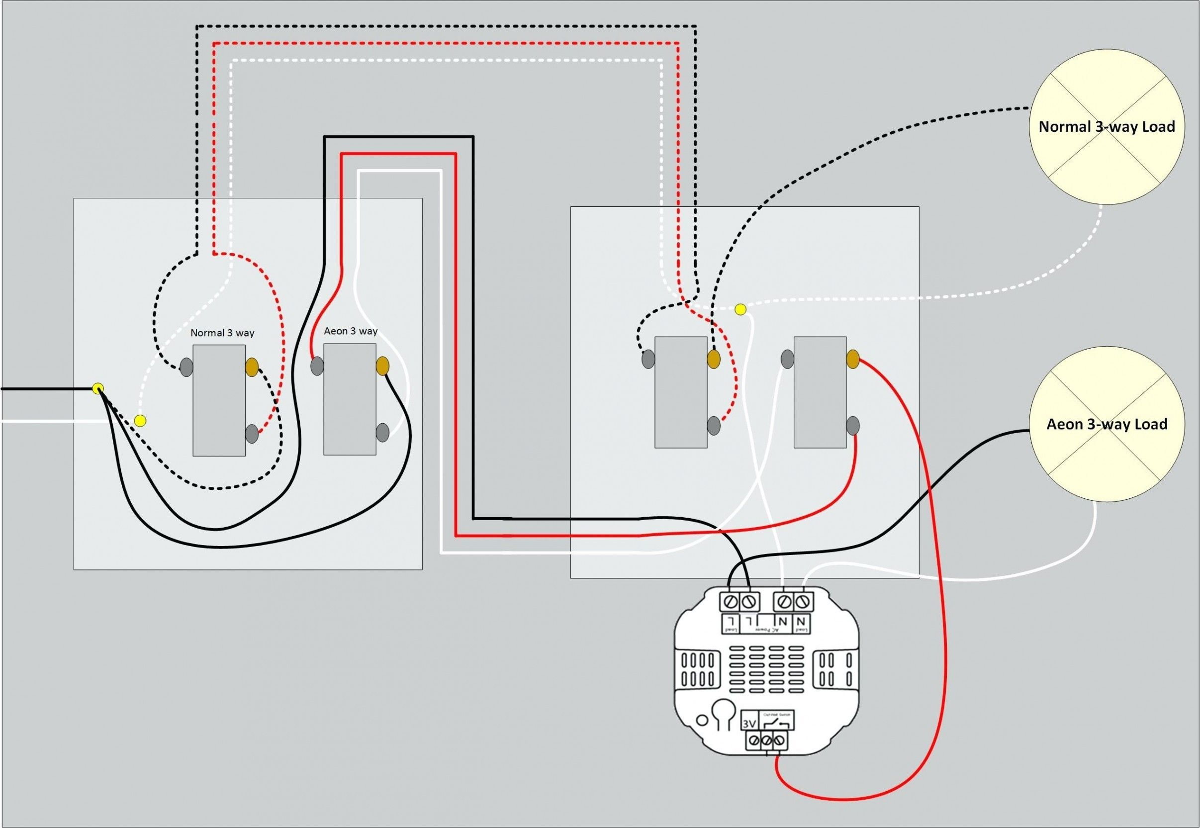 11 Good Wiring Diagram For 3 Way Switch With Multiple
