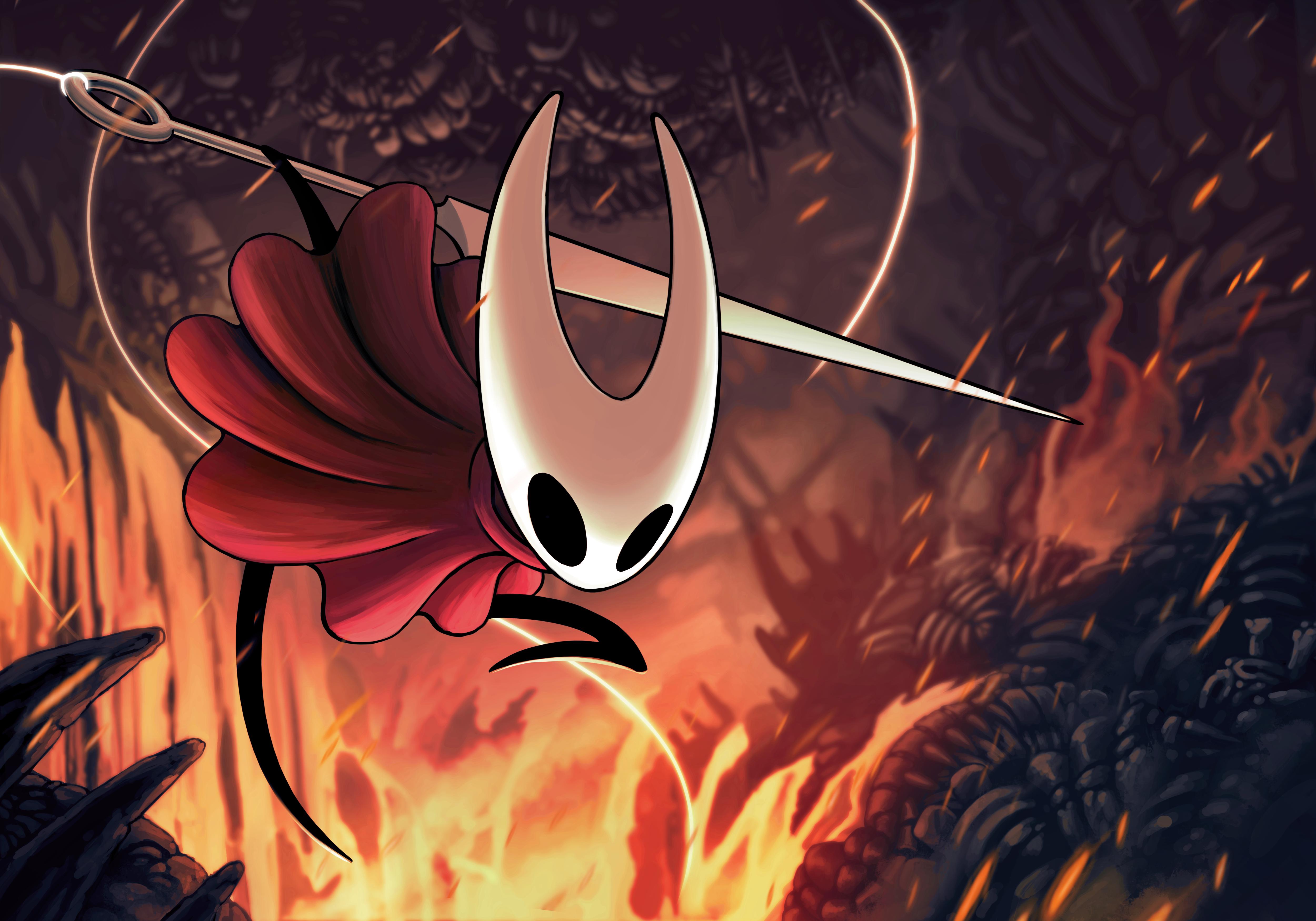 Hollow Knight Silksong Hollow Art Knight Team Cherry