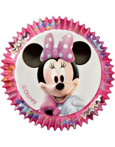 Minnie Mouse Baking Cups 50ct Cupcake Supplies Birthday Cake