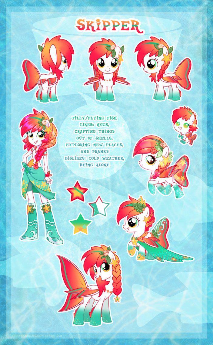 Skipper ultimate reference guide by lessanamidairo on deviantart mlp poney dessin anim - My little pony dessin anime ...