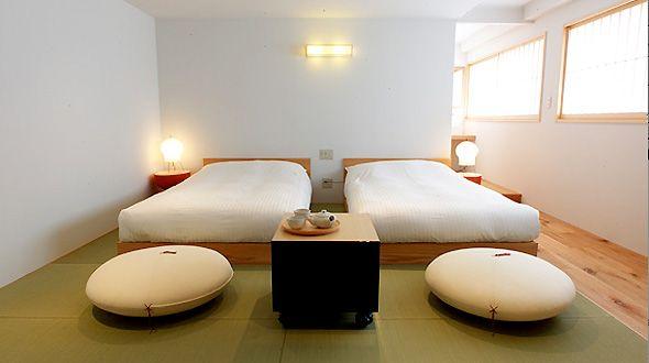 Tatami room design hotel tokyo claska dream house for Design hotel tokyo