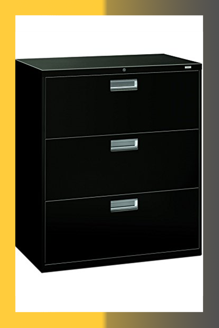 Hon Brigade 3 Drawer Filing Cabinet 600 Series Lateral Legal Or