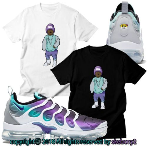 d7f16006 Details about NEW CUSTOM T SHIRT matching NIKE AIR VAPORMAX PLUS ...