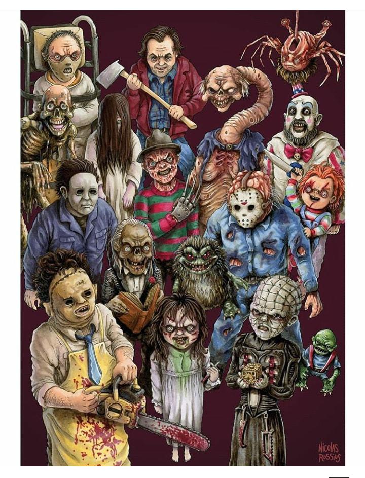 Pin by Angelique Rubenstine on Horror Junkie Monster