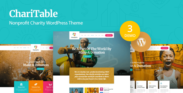 Charitable Nonprofit Charity Wordpress Theme Overview Charitable Is A Wordpress Theme Especially Designed And Developed For Wordpress Theme Theme Charity
