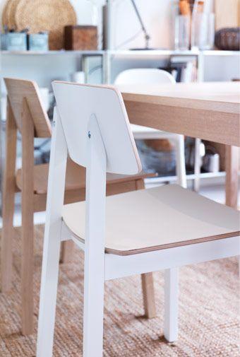 Biela stolička SIGURD | Ikea kitchen, Ikea kitchen design, Ikea