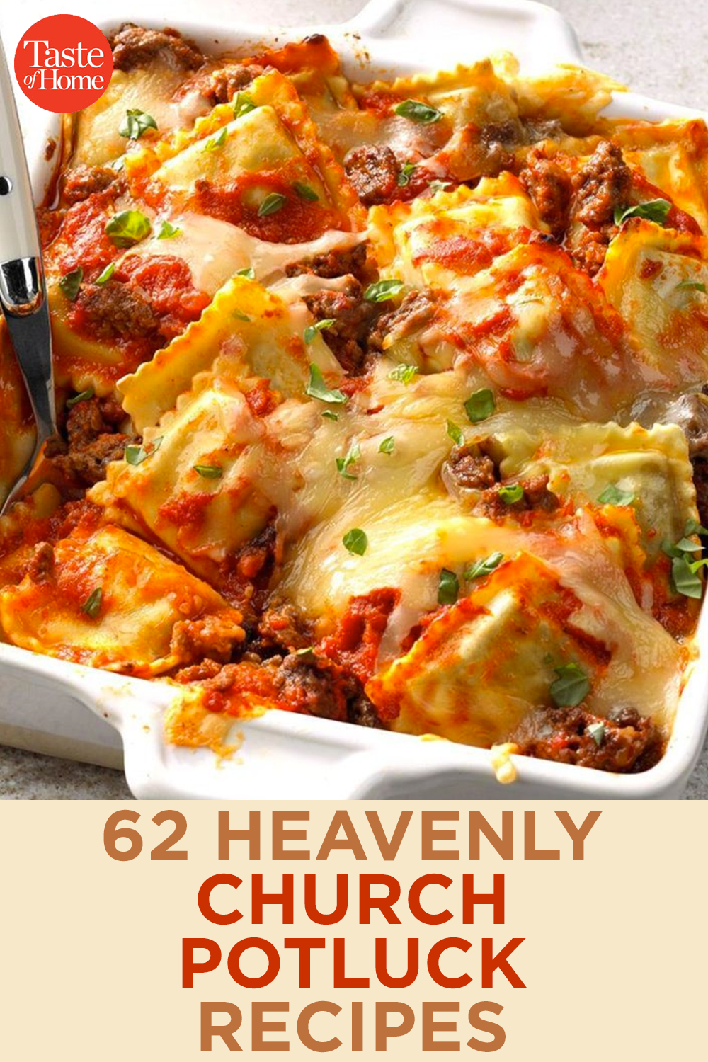 62 Heavenly Church Potluck Recipes
