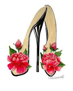 zapatos de tacon para imprimir  ZAPATOS PARA IMPRIMIR  Pinterest