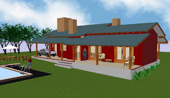 Planta de casa de campo modelo12 casas pre fabricadas for Ver modelos de casas de campo