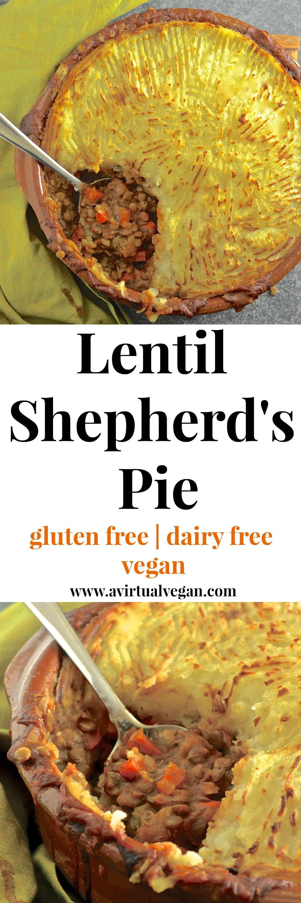 Shepherd's Pie Rich, flavourful, saucy lentils topped with fluffy, creamy mashed potatoes & baked until deliciously golden brown & crispy. The ultimate vegan lentil shepherd's pie!Rich, flavourful, saucy lentils topped with fluffy, creamy mashed potatoes & baked until deliciously golden brown & crispy. The ultimate vegan lentil shepherd's pie!