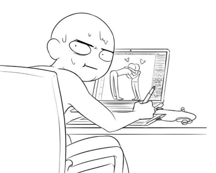 Draw Your Ocs Funny Drawings Anime Poses Reference Drawing Reference Poses