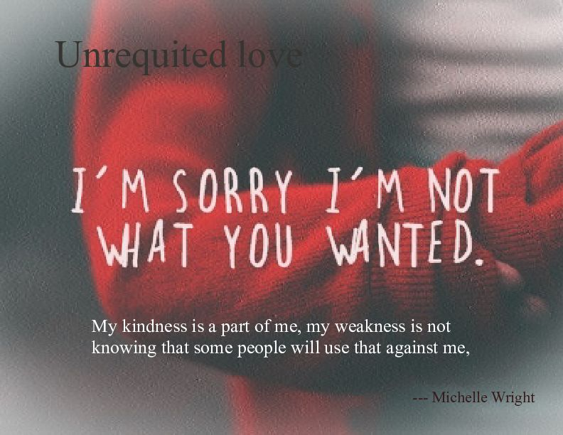Unrequited Love By Michelle Wright Narcissists Mothers Sorry