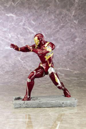 Iron Man Mark 46 ARTFX  - Captain America: Civil War Movie on Crunchyroll